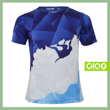 Ciao Value quality sublimation slub cotton t-shirt for distributor