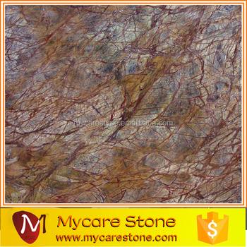 Luxury Rainforest Brown Bathroom Marble Floor Tile Buy Luxury