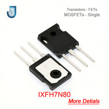 Chất Lượng cao MOS Transisotor MOSFET N-CH 800 V 7A TO-247AD IXFH7N80