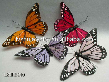 decorative wedding crafts wire feather butterfly lzhhh440 buy