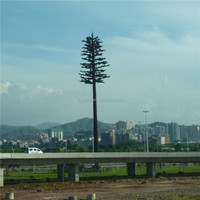 Artificial tall fake pine tree as the base station tree,to install the electric wire for received signal