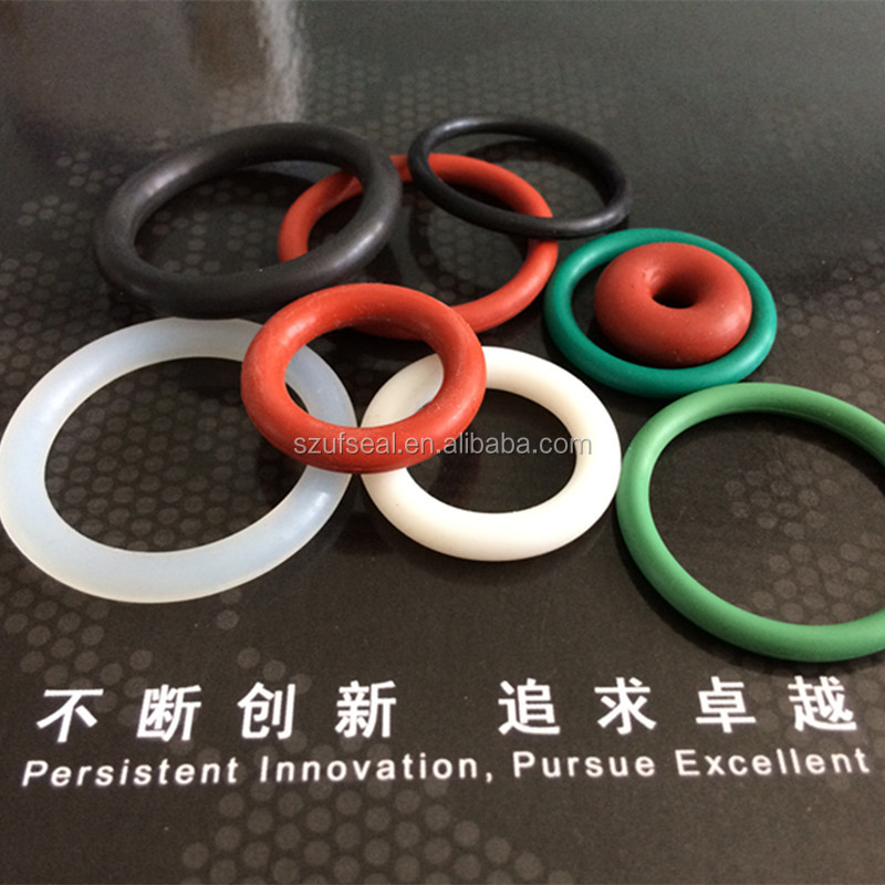 different color viton o ring/soft silicone o ring/AS568 standard o ring