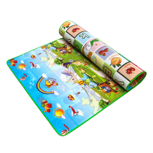 China supplier games children's toys educational plush pvc baby play mat