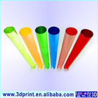 Lankeda high quality plastic abs rods 8mm acrylic rod plastic bar round