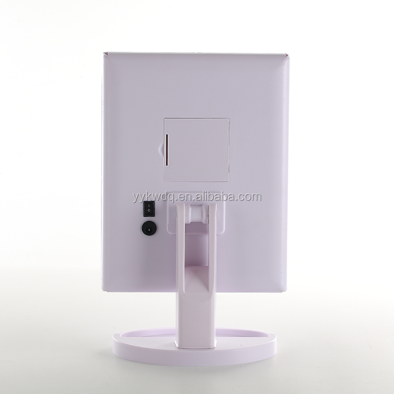 Led Lighted Makeup Mirror With 10x Magnifying Natural Led