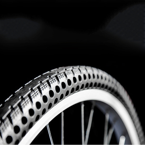 26x1.5 Inch Airless Solid Bicycle Tires Tubeless Tires For City Bikes