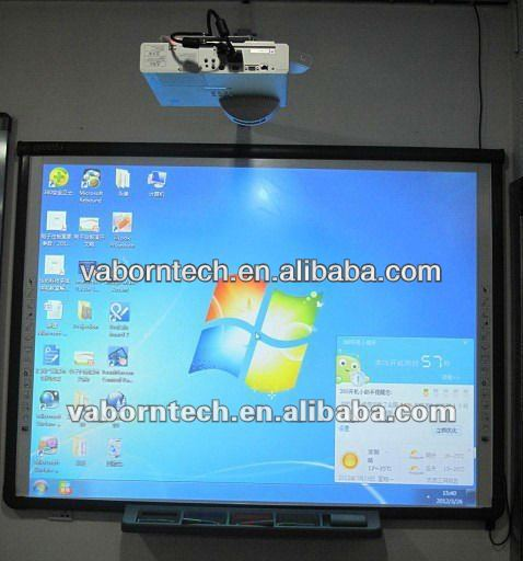 interactive classroom solution full solution interactive whiteboard+projector+PC+mobile stand+speaker