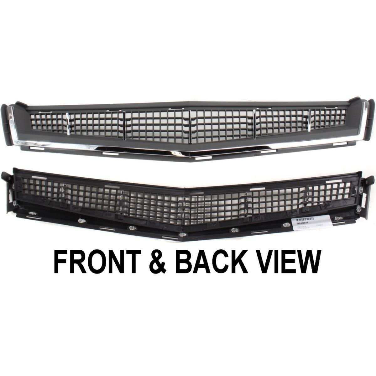 Diften 105-A6352-X01 - New Bumper Grille Front Chrome Coupe Sedan Cadillac CTS GM1036123 25896041