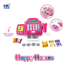 BO Money Cashier Pretend Play Toys Sets with Light and Sound