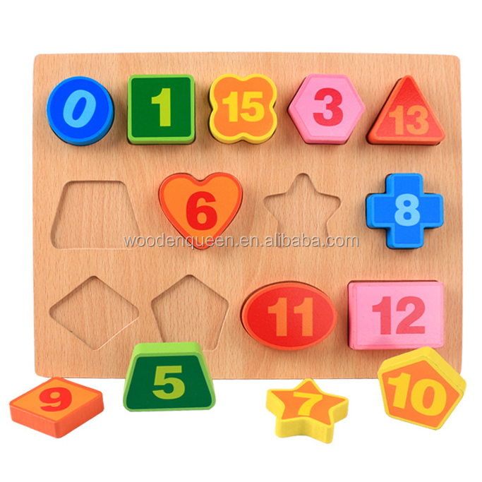 China Manufacturer Directory Wooden 3d Shape Digital Alphabet Abc 123  Puzzle Jigsaw Puzzle Wooden Toy Yz401 Wood Toys For Kids - Buy Puzzle