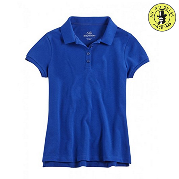 100% Cotton Primary Boys School Uniform Polo Shirt