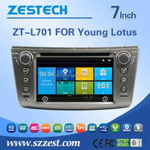 fit for Proton Gen2 /Proton Persona / Lotus L3 car dvd player with bluetooth/phonebook/swc/rds