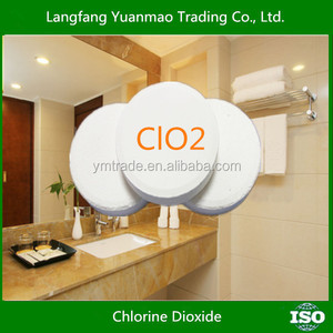 Chlorine Dioxide Effervescent Tablet Used for Hospital and Pharmaceutical
