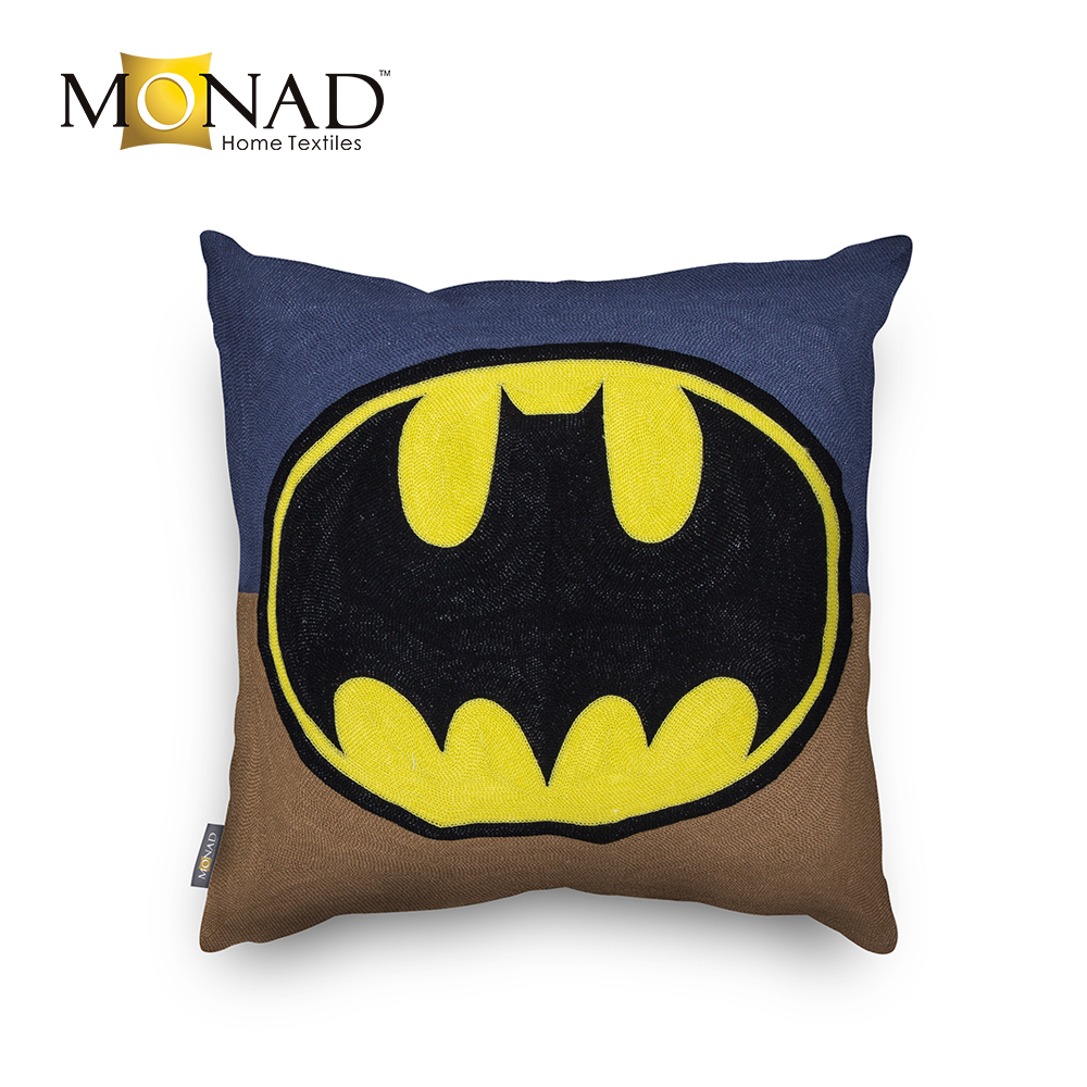 Cheap superman embroidery designs couch decorative pillow cushion covers