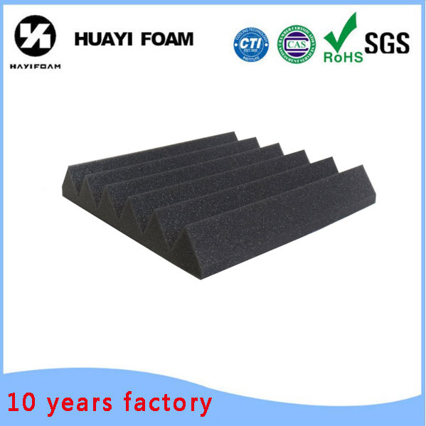 High Density Wedge Acoustic Foam for Studio and Machine Room