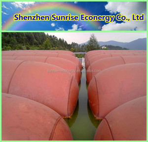 Hot sale durable inflatable PVC biogas from vegetable waste biogas digester