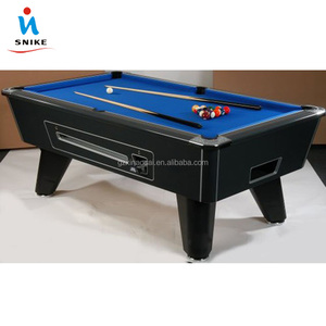 Factory Direct Sale Manual Coin Selector 7ft & 8ft Coin Operated pool Table