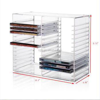 Cd Tower Dvd Holder Rack