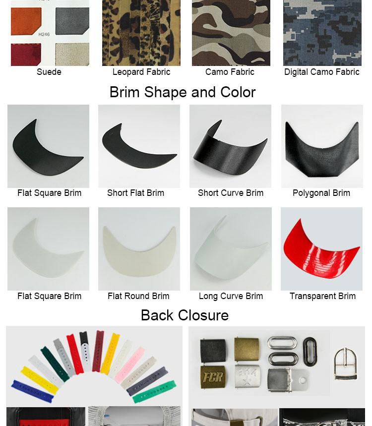 Guangjia Cap Manufacturer Wholesale Custom Zipper Cap