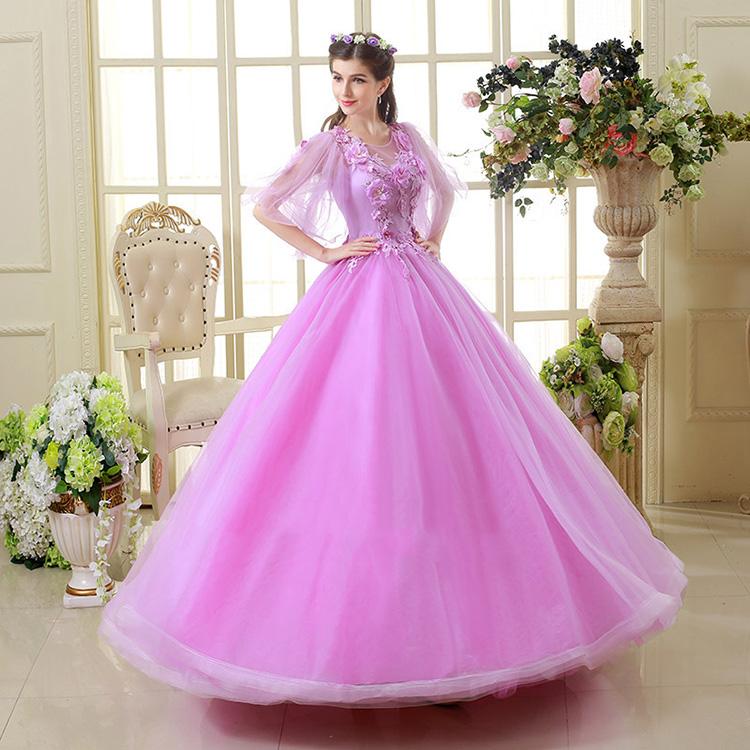 Venta al por mayor vestido largo strapless morado-Compre online los ...