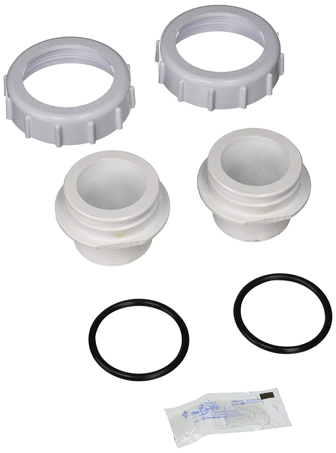 Pentair 271092 Threaded Adapter Replacement Kit Triton Pool and Spa Sand Filter