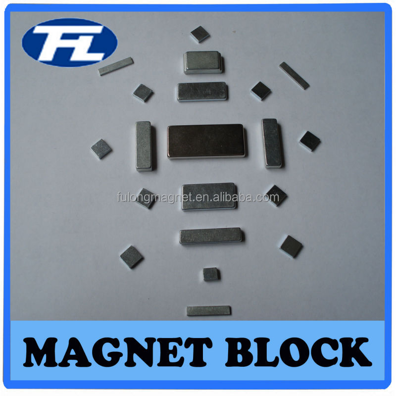 2014 Hot Product sintered permanent neodymium Magnet block