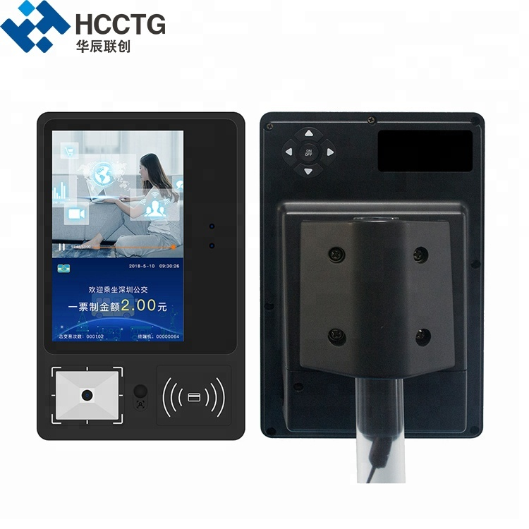 Android System Electronic NFC Ticket Barcode Scanner Bus RFID Reader P20