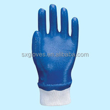 high quality dotted nitrile dip gloves can custom logo