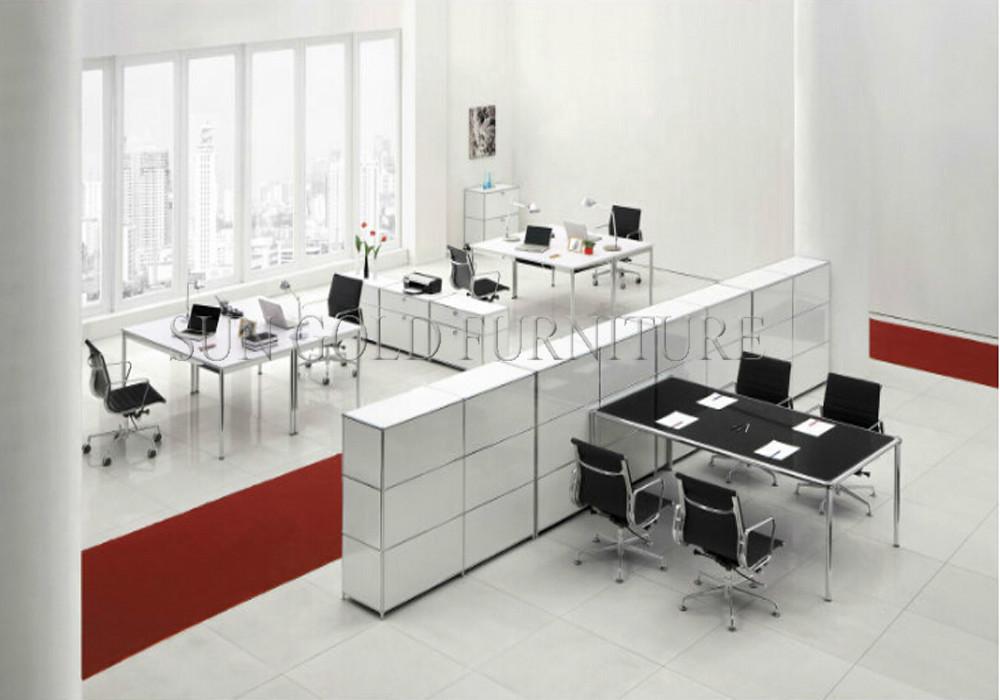 Estaci n de trabajo de oficina cub culo dise o moderno for Mobiliario oficina moderno