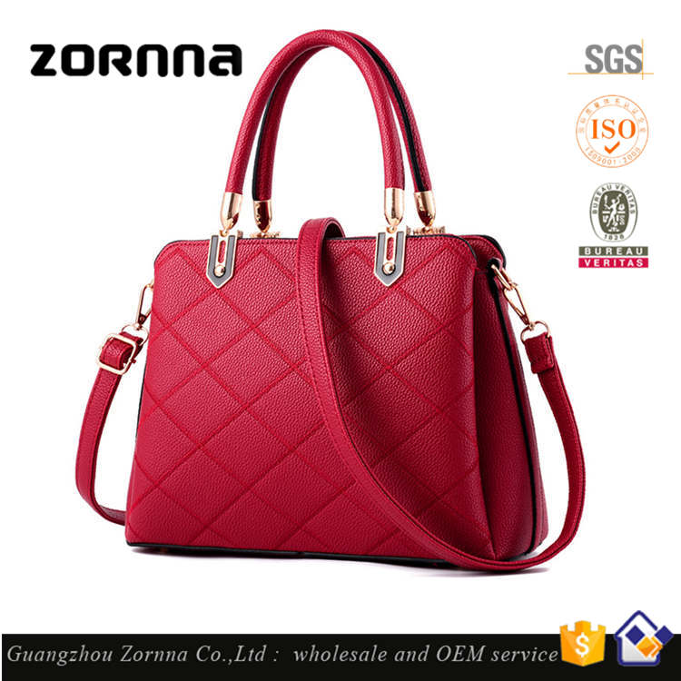 Quilting Factory Price Famous Brand Direct Designer Latest European Tote Bag Fashion Elegance Ladies Handbag