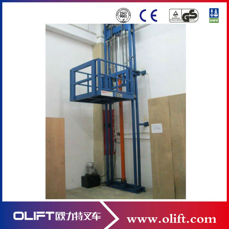 Hydraulic Chain Guide Rail Cargo Elevator Lift Buy