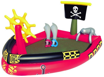 Bestway Splash & Play Inflatable Pirate Ship Pool/pirate Play Center  Inflatable Pool - Buy Inflatable Pirate Pool,Pirate Play Center Inflatable