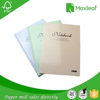 Best products office personalized colored hardcover notebook