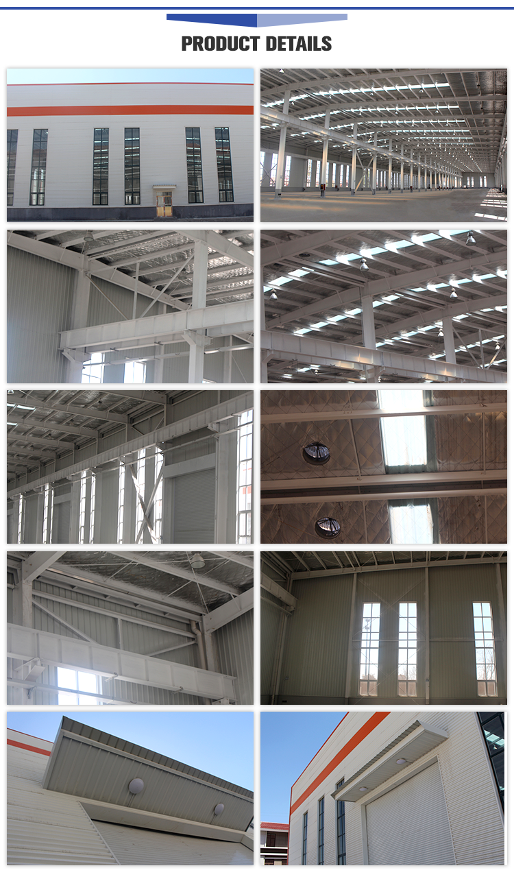 Steel Structure Free Design Custom Two Story Steel Structure Workshop
