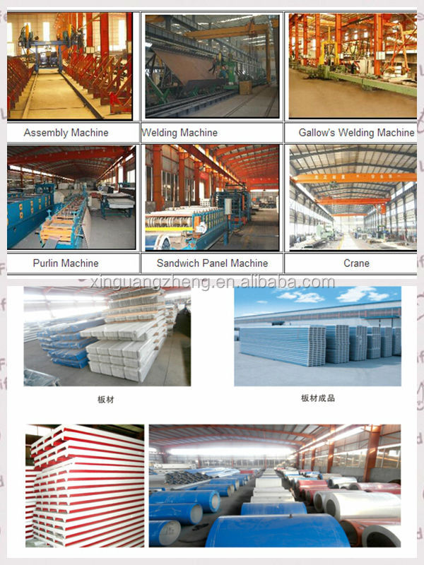 steel frame warehouses