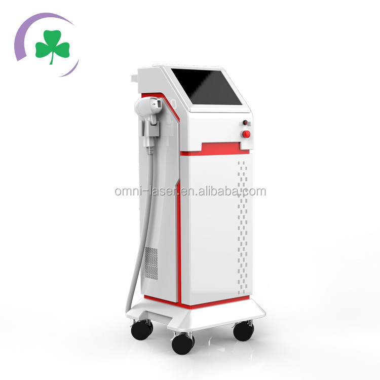 Shanghai omni laser 808nm laser led hair removal machine