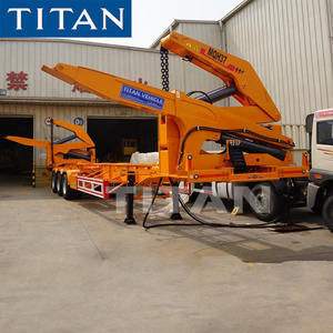 Titan 37ton 20FT Container Lift Truck 40FT Container Side Loader for Sale