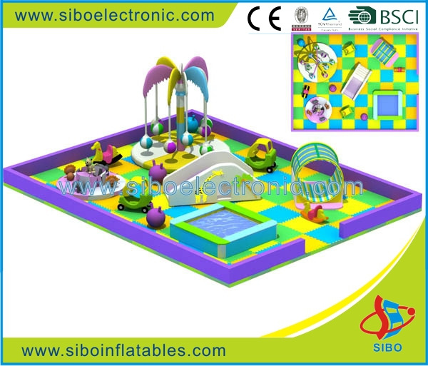 GM-cheap toys Plastic Playground Indoor Playground Type naughty castle
