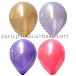 12 inch colorful metallic balloon