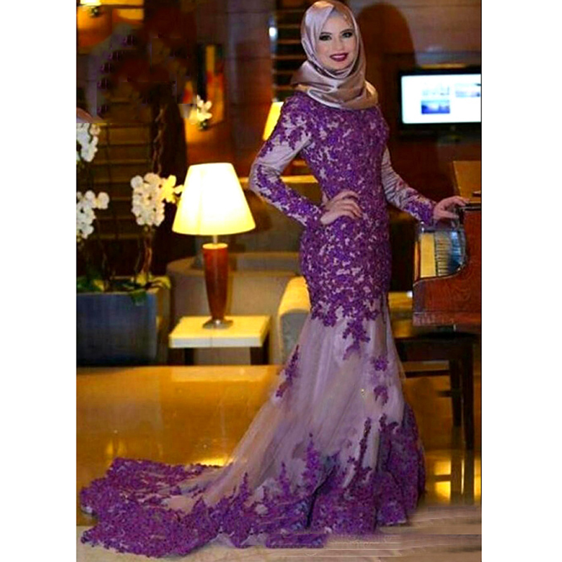 76adf125 Detail Feedback Questions about Fabulous Purple Appliques Mermaid ...
