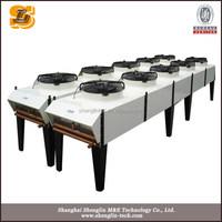 New dry pump technology vacuum cooling machine,vacuum dry cooler