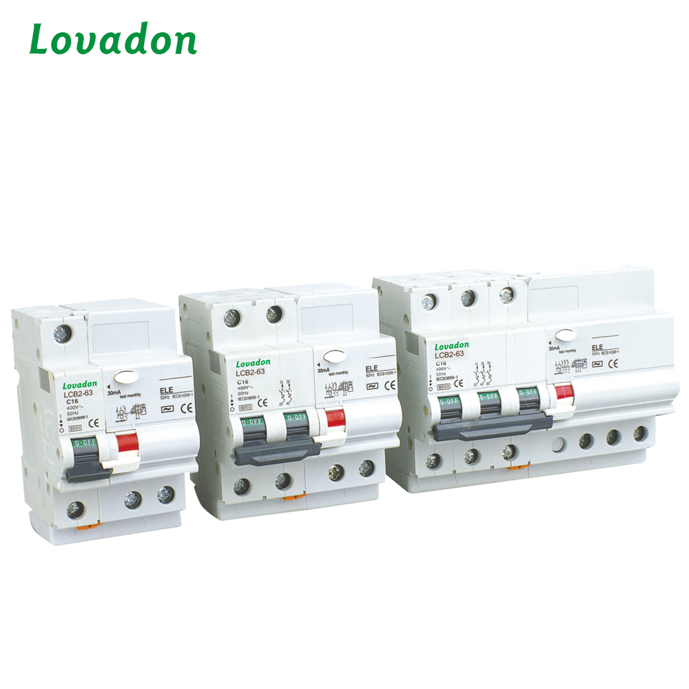 China Earth Circuit Breaker Wholesale Alibaba 220v Double Poles 2p Switch Type Rccb Residual Current