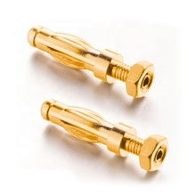 Rohs Open Hex Schroef Type Remote Cord Vrouwelijke Vergulde 4 Mm Banana Plug Jack <span class=keywords><strong>Connector</strong></span>