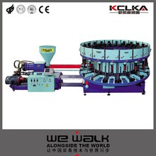 Full Automatic Disc Type Single Color Casual Shoes Sports Shoes Knot Injection Moulding Machine EK-5112YY