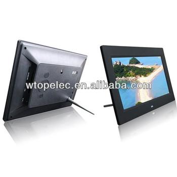 High Resolution 1024x600 Slim 10 Inch Digital Photo Frame,Electric ...