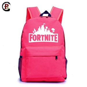 Game fortnite waterproof canvas backpack sport traveling hiking backpack for kids