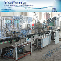 Linear pure/mineral water filling line/ normal pressure filling machine/complete filling line