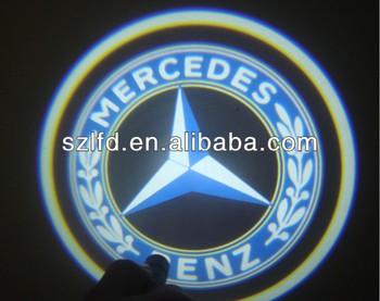 Auto Led Welkom 3d Ghost Shadow Emblemen Auto Logo Deur Licht Kit