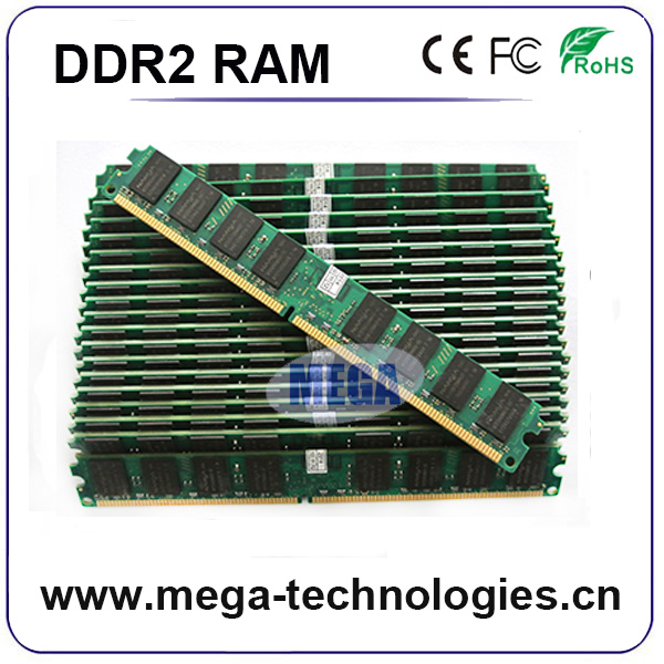 Desktop 2x4gb memory ddr2 800 8gb with original chips