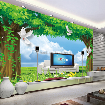 Amazing Effect Wall Mural Wallpaper For Children Room